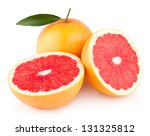 ripe grapefruits | Shutterstock . vector #131325812