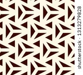 contemporary geometric pattern. ... | Shutterstock .eps vector #1313279828