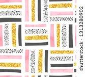 vector seamless abstract... | Shutterstock .eps vector #1313280902