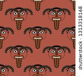 seamless geometrical pattern...   Shutterstock .eps vector #1313318168