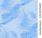 various hatches. seamless... | Shutterstock .eps vector #1313319635