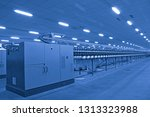 in a rotating machinery and... | Shutterstock . vector #1313323988