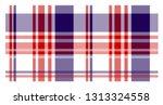 seamless tartan plaid. scottish ... | Shutterstock .eps vector #1313324558