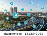 social infrastructure and... | Shutterstock . vector #1313343032