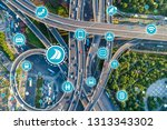 social infrastructure and... | Shutterstock . vector #1313343302