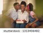 portrait of happy african...   Shutterstock . vector #1313406482