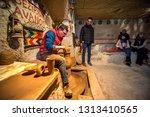 capadocia  turkey   disember 10 ...   Shutterstock . vector #1313410565