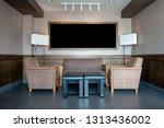 spacious living room  corner... | Shutterstock . vector #1313436002