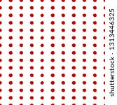 seamless background pattern red ... | Shutterstock .eps vector #1313446325