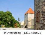 tallinn. estonia. the towers of ... | Shutterstock . vector #1313480528