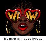 color illustration in comic... | Shutterstock . vector #1313490392
