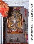 tample of balaji in india   Shutterstock . vector #1313510735