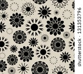 vector seamless texture with... | Shutterstock .eps vector #131353796