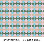 ottoman mosque window vector... | Shutterstock .eps vector #1313551568