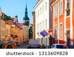 tallinn  estonia  07 27 2010 ... | Shutterstock . vector #1313609828