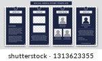social media instagram ig story ... | Shutterstock .eps vector #1313623355