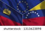 lichtenstein and venezuela 3d...   Shutterstock . vector #1313623898