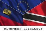 lichtenstein and trinidad...   Shutterstock . vector #1313623925