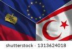lichtenstein and north cyprus...   Shutterstock . vector #1313624018