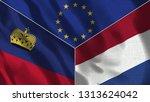 lichtenstein and netherlands 3d ...   Shutterstock . vector #1313624042