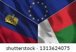 lichtenstein and madagascar 3d...   Shutterstock . vector #1313624075