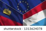 lichtenstein and luxembourg 3d...   Shutterstock . vector #1313624078