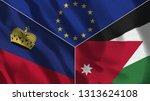 lichtenstein and jordan 3d...   Shutterstock . vector #1313624108