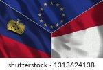 lichtenstein and indonesia 3d...   Shutterstock . vector #1313624138