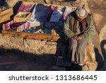 mount sinai  qesm sharm ash... | Shutterstock . vector #1313686445
