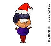 hand drawn textured cartoon of... | Shutterstock .eps vector #1313719502