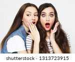 lifestyle  emotion and people... | Shutterstock . vector #1313723915