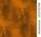 various pencil hatches.... | Shutterstock .eps vector #1313732708