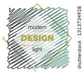 modern icon design logo element ... | Shutterstock .eps vector #1313734928