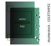 modern icon design logo element ... | Shutterstock .eps vector #1313734952