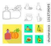 vector design of healthy  and...   Shutterstock .eps vector #1313739095