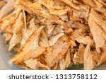 heap of dried fish at the...   Shutterstock . vector #1313758112