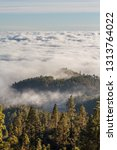 stunning clouds landscape.... | Shutterstock . vector #1313764022