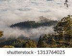 stunning clouds landscape.... | Shutterstock . vector #1313764025