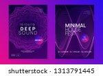 techno event. digital show... | Shutterstock .eps vector #1313791445