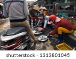 the market on phu quoc island ...   Shutterstock . vector #1313801045