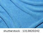 photo of blue wave microfiber... | Shutterstock . vector #1313820242