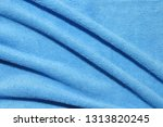 photo of blue wave microfiber... | Shutterstock . vector #1313820245