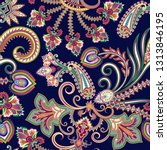 Seamless Contrast Pattern With...