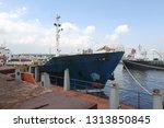 logistics and transportation of ... | Shutterstock . vector #1313850845