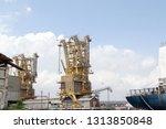 logistics and transportation of ... | Shutterstock . vector #1313850848