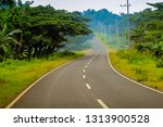 scenic road view in south coast ... | Shutterstock . vector #1313900528