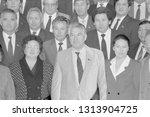 moscow  ussr   august 23  1991  ... | Shutterstock . vector #1313904725