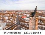 riga  latvia  february 14  2018 ... | Shutterstock . vector #1313910455