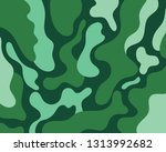 camouflage background. seamless ... | Shutterstock .eps vector #1313992682