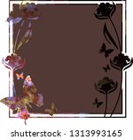 beautiful mosaic background... | Shutterstock .eps vector #1313993165